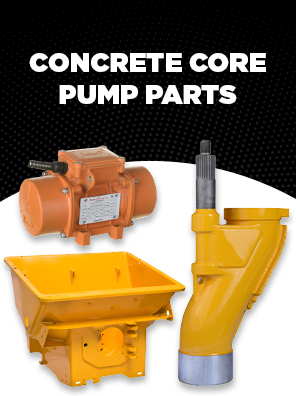 Concrete Core Pump Parts